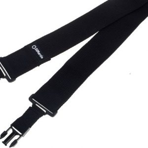 DiMarzio ClipLock Strap (Black / Cotton)