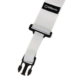 DiMarzio ClipLock Strap (White / Nylon)