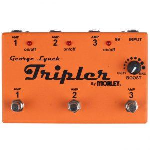 Morley Quad George Lynch Tripler Selector / Combiner