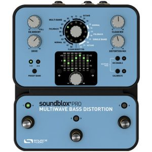 Source Audio Multiwave Bass Distortion PRO