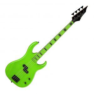 Dean Custom Zone Bass Nuclear Green