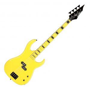 Dean Custom Zone Bass Yellow