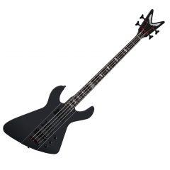 Dean Demonator 4 Chaos Bass (Black Satin)