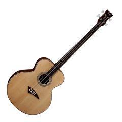Dean EAB Acoustic 4-String Fretless Natural