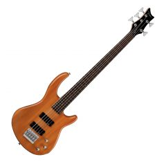 Dean Edge 1 5-String Bass Trans Amber