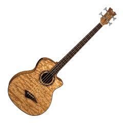 Dean Exotica Acoustic Bass w/ Aphex BB