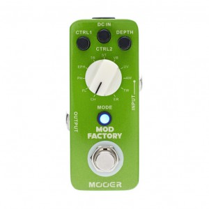 Mooer Mod Factory 11 Modulation Effects