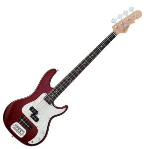 G&L SB-2 Tribute Series – Bordeaux Red Metallic