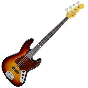 G&L USA JB Bass – 3-Tone Sunburst