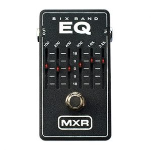 MXR Six Band Graphic EQ (M109)