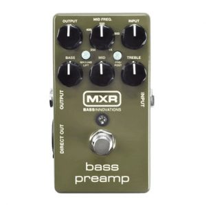 MXR Bass Preamp EQ & DI (M81)