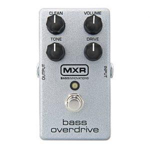 MXR Bass Overdrive Pedal (M89)