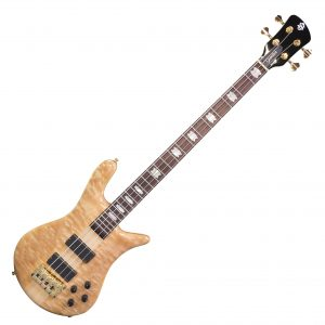 Spector Euro 4LX Natural Figured Maple P/J
