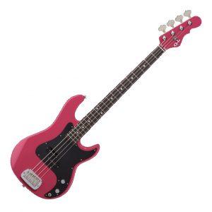 G&L USA LB-100 Bass – Panther Pink