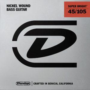 Dunlop Super Bright Bass Strings Nickel (45-105)