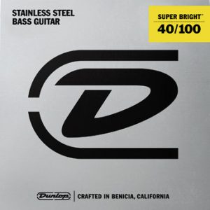 Dunlop Super Bright Bass Strings Stainless Steel (40-100)