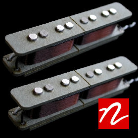 Nordstrand NJ4SE Jazz Bass Split Coil Pickup (Humcancelling) (Set)