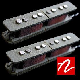 Nordstrand NJ4SE Jazz Bass Split Coil Pickup (Humcancelling) (Set)
