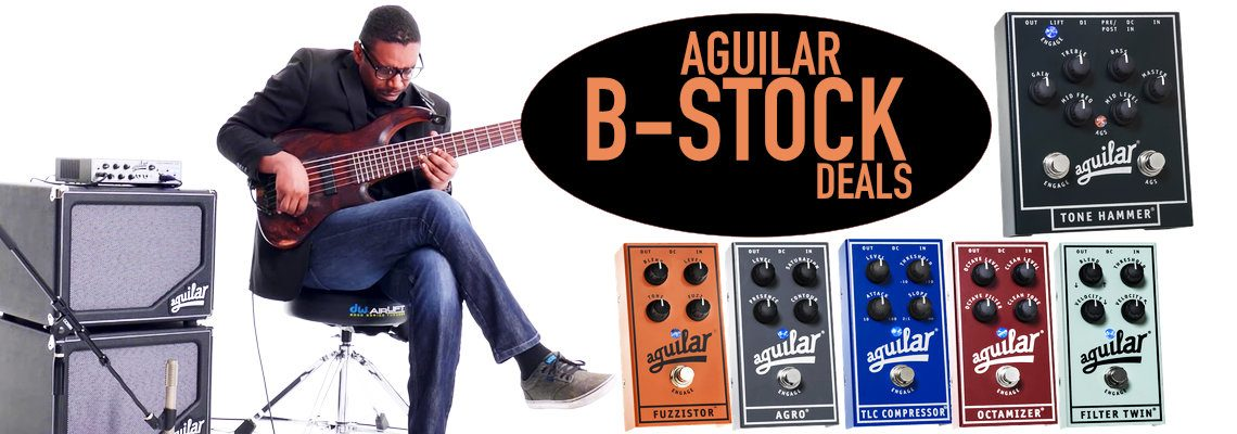 Aguilar B Stock Pedals