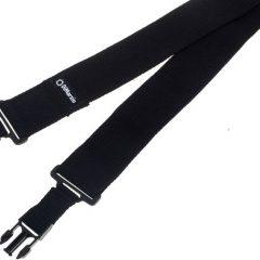 DiMarzio ClipLock Strap (Black / Cotton)