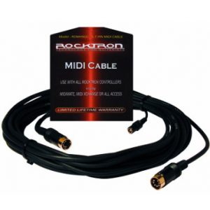 Rocktron 5 to 7 Pin MIDI Cable