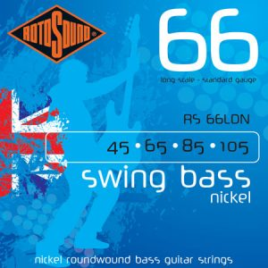 Rotosound Swing Bass 66 Nickel Medium Scale (45-105)