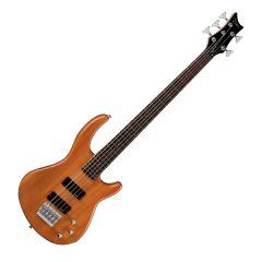 Dean Edge 1 5-String Bass Trans Amber