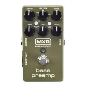 MXR Bass Preamp EQ & DI (M81)