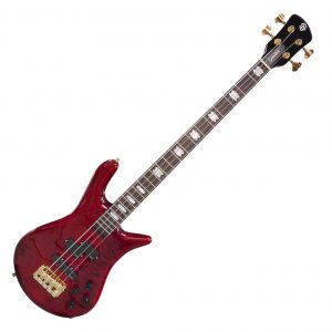 Spector Euro 4LX Black Cherry Gloss P/J