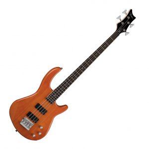 Dean Edge 1 4-String Bass Trans Amber