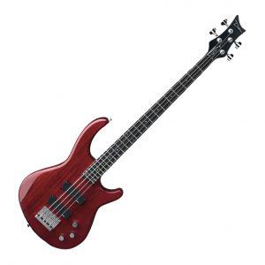 Dean Edge 1 4-String Bass Trans Red