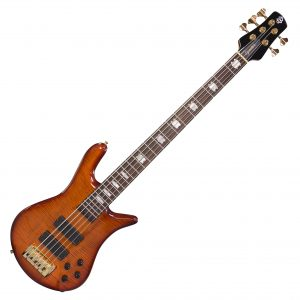 Spector Euro 5LX TW Ultra Amber Figured Maple