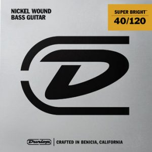 Dunlop Super Bright Bass Strings Nickel (40-120)