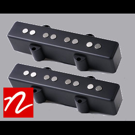 Nordstrand NJ4 Jazz Bass Single Coil Pickup (70's) (Set)