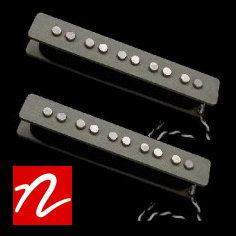 Nordstrand NJ5 Jazz Bass Single Coil Pickup Set (70's)